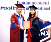 Graduation ceremony of the Advanced program in International Business  Management K50 (Course 2)