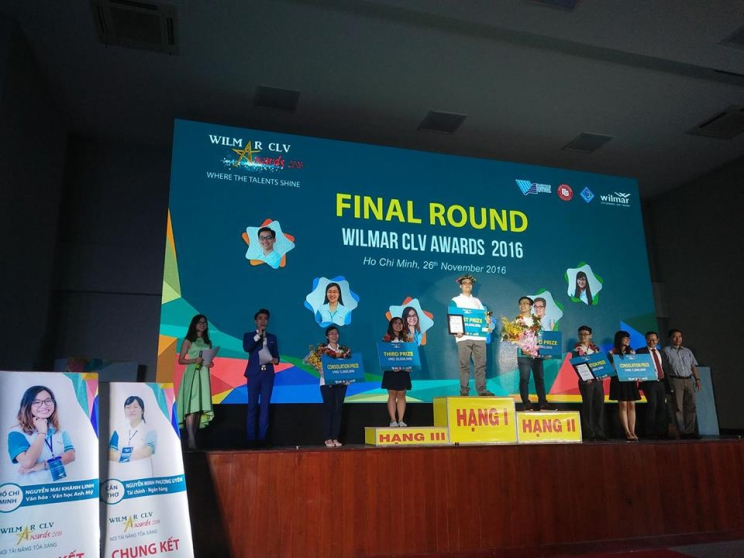 FTU students won first prize at the Final Round Wilmar CLV Awards 2016