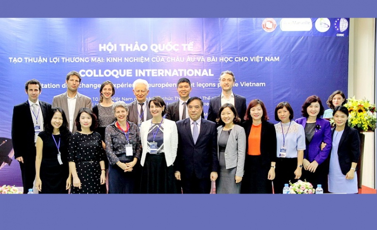 "International conference: ""Facilitation on trading: Lessons from Europe for Vietnam"""