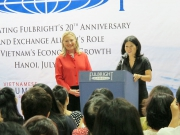 Secretary of State Hillary Clinton visits FTU