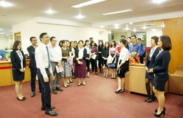 A Practical Tour for course 52nd students of Banking & Finance Department