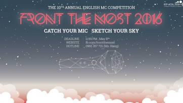 Front The Most 2016 - The 10th annual English MC Contest