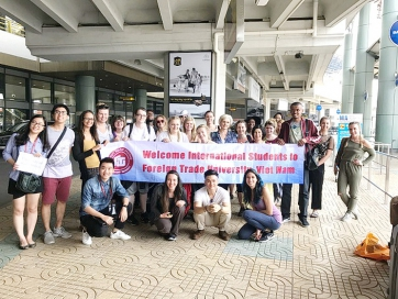 An Amazing Study Tour of Students from University of Bedfordshire, United Kingdom to Vietnam