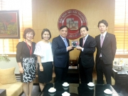 Foreign Trade University welcomed the Chairman of the Management Board from Aomori Chuo Gakuin University, Japan