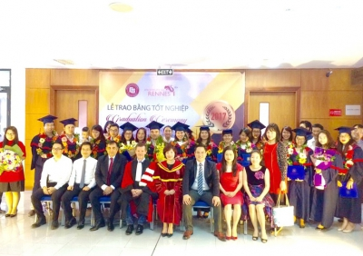 The Graduation Ceremony of Master of Treasury Management (Cohort 5)