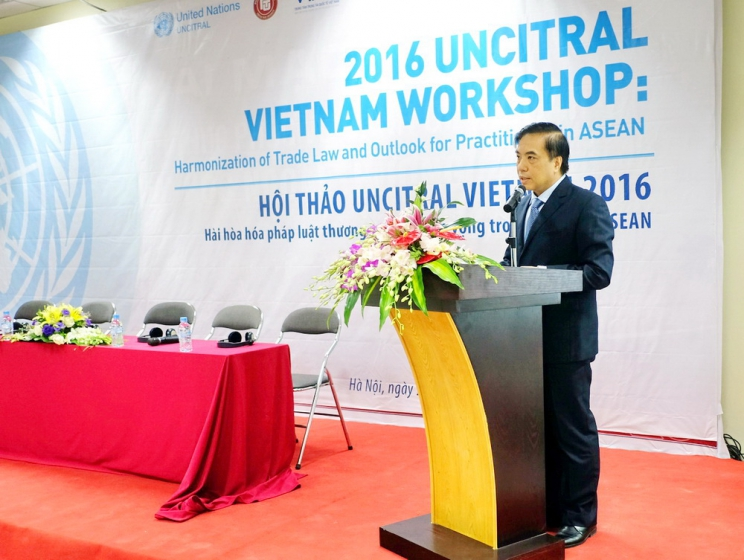2016 Uncitral Vietnam Workshop: Harmonization of Trade Law and Outlook for practitioners in ASEAN