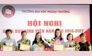 Students' Science Conference 2016-2017 at the Foreign Trade University - Quang Ninh campus