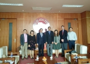 The President of Mihaylo College of Business and Economics at California State University, Fullerton visited FTU