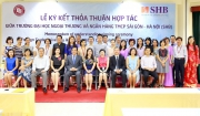Memorandum of Understanding Signing Ceremony between FTU and Saigon - Hanoi Commercial Joint Stock Bank (SHB)