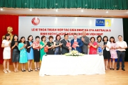 The signing ceremony of the cooperation agreement between FTU and CPA Australia and the Career Talk to  FTU Students