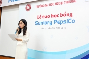 Suntory Pepsico scholarship award ceremony for FTU students