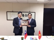 The delegation of Foreign Trade University had a visit and worked in Taiwan