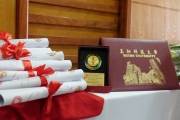 The Graduation ceremony for 5th intake and the Opening ceremony for 9th intake of Master of Business Administration