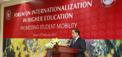 Forum on Internationalization in Higher Education: Promoting Student Mobility